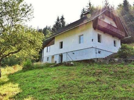 Sirnitz / Bezirk Feldkirchen Einfamilienhaus mit vielen Möglichkeiten!!