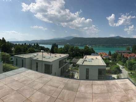 """Velden am Wörthersee: AUEN VILLEN - TOP 7: What a view!! - """"Luxus-Penthouse mit ca. 94 m² WNF + ca. 30 m² Terrasse mit Seeblick,…"""