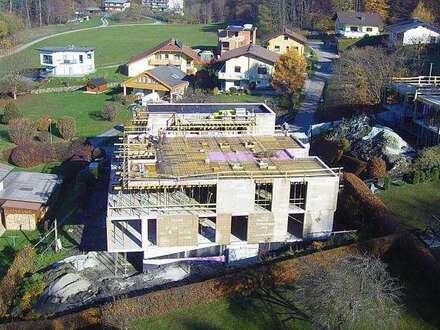 AUEN VILLEN - Luxus-Penthouse mit ca. 187 m² WNF mit einzigartigem Seeblick + ca. 60 m² Terrasse, Anteil am Seegrundstück, Tiefgarage und Pool