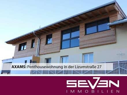 AXAMS: Penthousewohnung in der Lizumstraße 27