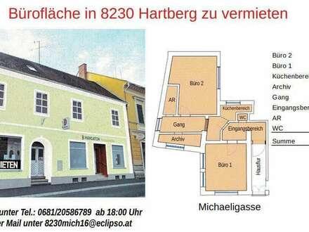 Büroräumlichkeiten in 8230 Hartberg zu vermieten