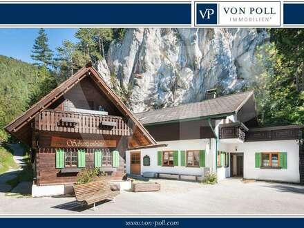Rustikales Gasthaus in Puchberg am Schneeberg