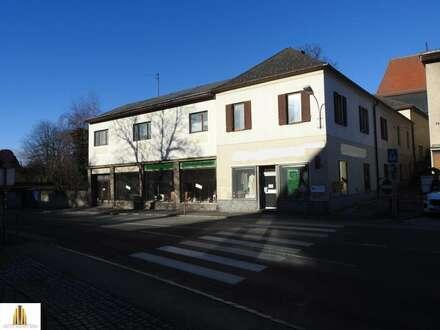 Großes, sanierungsbedürftiges Mehrfamilienhaus mit Geschäftsräumen und viel Potential, in Heidenreichstein!