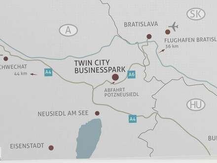 TWIN CITY BUSINESSPARK NÄHE FLUGHAFEN WIEN