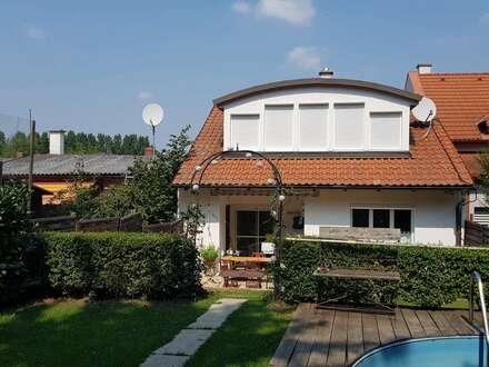 Idyllisches Wohlfühlhaus mit Zugang zum privaten Badeteich - Bruckneudorf