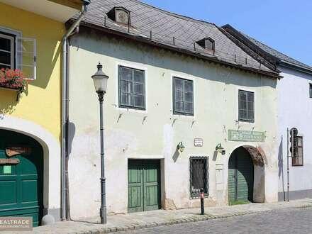 RARITÄT IN NUSSDORF: Romantisches Winzerhaus aus dem 17ten Jahrhundert