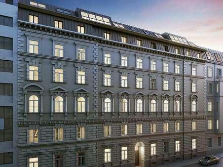 Elegantes saniertes Altbau-Büro mit Terrasse in zentraler Lage in Wieden (Botschaftsviertel)