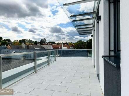 WINZENZ - Exklusive, perfekt aufgeteilte Terrassenwohnung am Fuße des Nussbergs (Erstbezug)