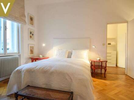 Entzückende Altbauwohnung - voll möbliert und barrierefrei // Adorable apartment in Century House - fully furnished and with…