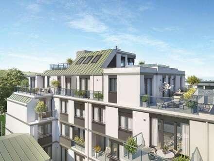 WINZENZ - Exklusive 4-Zimmer Wohnung mit 2 Balkonen am Fuße des Nussbergs (Erstbezug)