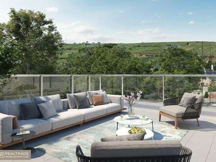 WINZENZ - Traumhafte Maisonette mit großzügiger Terrasse und Blick auf die Weinberge am Fuße des Nussbergs (Exklusiver Erstbezug)