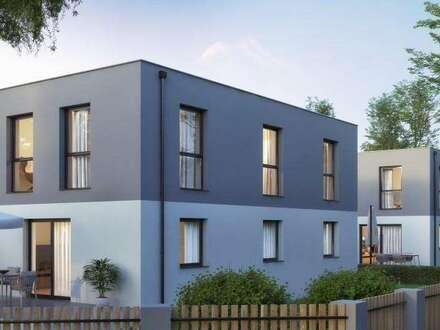 Nähe Erlebnispark Gänserndorf! 2 Doppelhäuser in Ruhelage - Eigengärten und Terrassen!