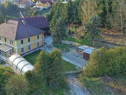 Liegenschaft mit großem Garten in Lambach