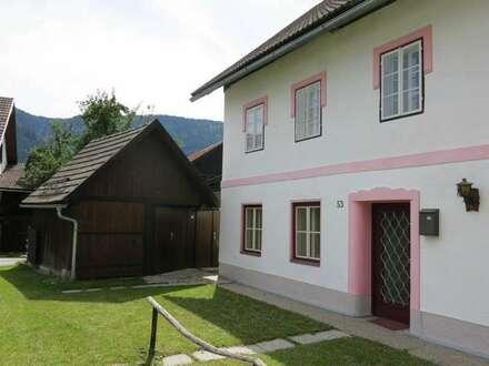 Bauernhaus undt Nebenhaus Renovierungsbedürftig in Dorflage im Gitschtal/Nähe Hermagor