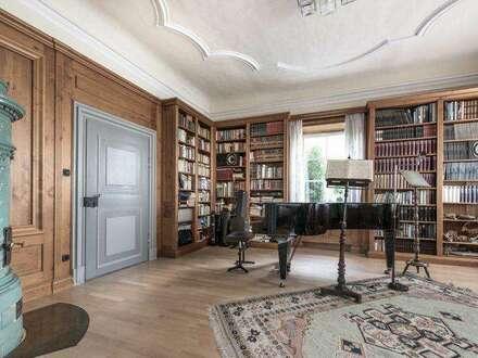 Schlossähnliches Anwesen in einem Parkgarten - Romantikerhaus - im Süden von Wien zum Verkauf