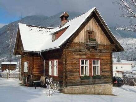 775m² Grund mit Traumblick - Holzhaus in Hollenstein an der Ybbs
