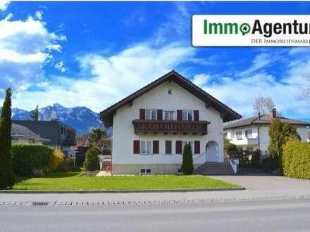 Einfamilienhaus mit großem Grundstück in Feldkirch-Gisingen
