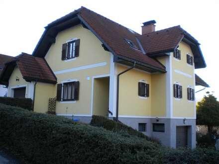 Eibiswald: sehr gepflegtes Einfamilienhaus mit Garage in sonniger, erhöhter Aussichtslage