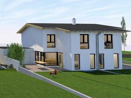 Hochwertige Doppelhaushälften in ruhiger, zentraler Lage (Pettendorf), Haustyp 1