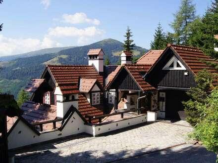 Herrliches Anwesen mit Aussicht im Schigebiet Klipitztörl