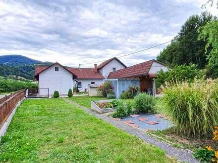 Schönes Einfamilienhaus mit großem Gartengrundstück in ruhiger + ortsnaher Lage zu verkaufen!