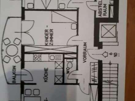 Ca. 80m² Wohnung mit Tiefgarage und Balkon sucht Nachmieter