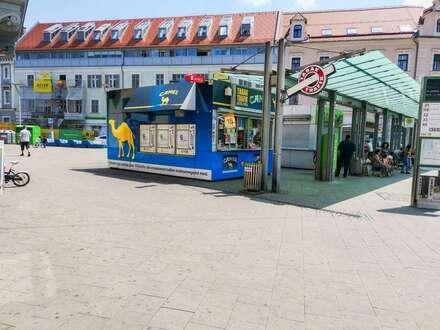 Trafik an Top-Standort in Graz. - Direkt am Griesplatz (Bushaltestelle)! - Vollständige Betriebsübernahme. - Eine außergewöhnliche…