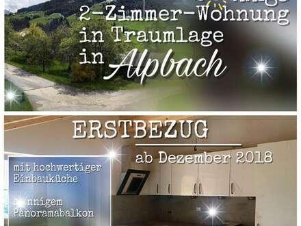 Sonnige 2-Zimmer-Wohnung in Traumlage in Alpbach