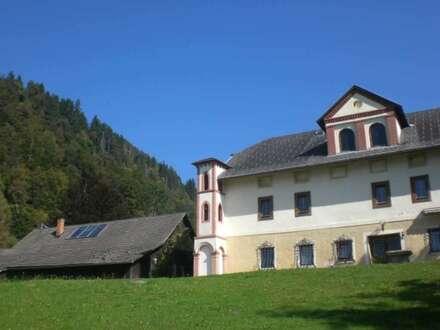 Schlossähnliche Liegenschaft in Ossiacher See Nähe