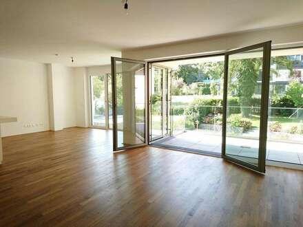 Untersievering: 3-Zimmer Luxusmietwohnung mit Balkon und 2 Garagenplätzen