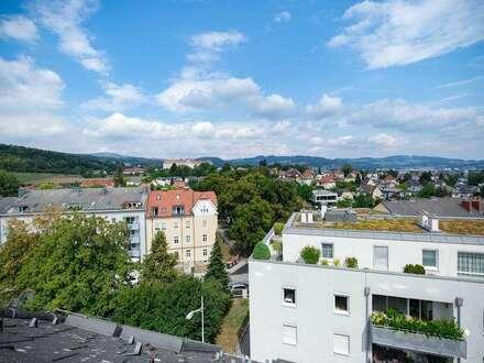 Über den Dächern von Urfahr: Wohnung mit Ausblick