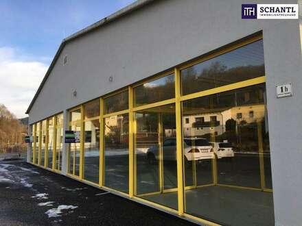 ITH: Hoch frequentierte Geschäfts- oder Bürofläche + Top Sichtbarkeit + Großzügige Parkplätze in Kindberg - Bezirk Bruck…