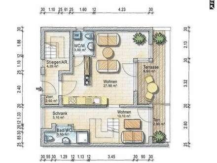 Fünfzimmer Maisonette mit Dachterrasse - provisionsfreier Bezug ab 1. Juli 2018
