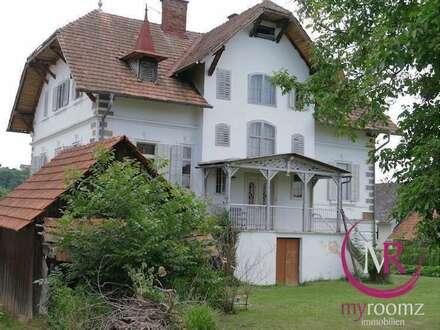 Historisch unvergleichbares Herrenhaus in St. Peter am Ottersbach