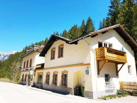 Pension & Kurhaus Bergfriede - BAD GASTEIN (Geburtsthaus Karl Heinrich Waggerl) zu VERKAUFEN