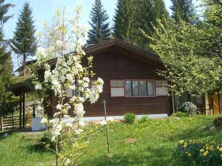 Idyllische Ferienhütte - zum allein bewohnen - umgeben von Gebirgspanorama - NÄHE LOFER