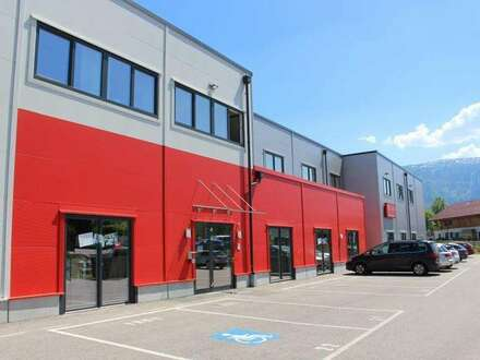 Wals, Flexhalle: Lager 1 mit Showroom