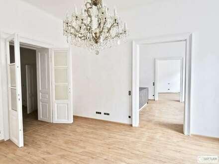 Erstbezug beim Haus des Meeres! Sonnige 4-Zimmer-Altbau-Wohnung mit kleiner Loggia in Ruhelage
