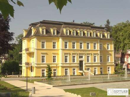 Bestlage! Sonnige 4-Zimmer-Erstbezug-Dachgeschoss-Wohnung mit Panoramaterrasse in historischer Villa