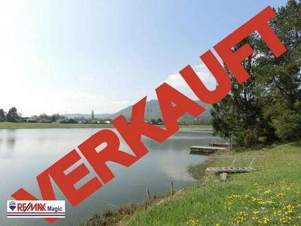 VERKAUFT-Badesee inklusive 10 Minuten von Wien entfernt