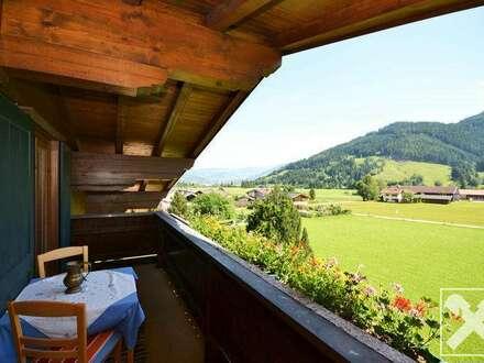 Landhausidylle in schöner Aussichtslage von Leogang