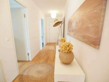 """""""Ums Eck"""" Wohl proportionierte 3 Zimmer Wohnung mit Terrasse"""
