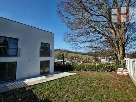Provisionsfreier Erstbezug! Schöne 4 Zimmer-Wohnung im Eigentum, großzügiger Garten mit 230m², schlüsselfertig!