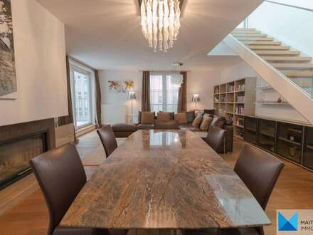 Fully Furnished Rooftop Apartment with 2 terraces ***close to Rochusmarkt (U3) & City Center***