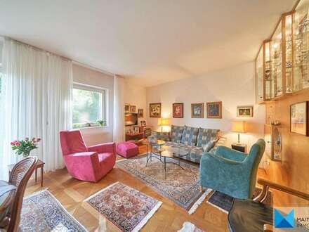 RARITÄT: Elegante Gartenmaisonette in Ruhelage nahe Josefsplatz **Innenarchitektur im Stile Adolf Loos'** 5 Zimmer, 2 Garagenplätze**