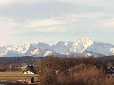 Alpenblick in Friedburg