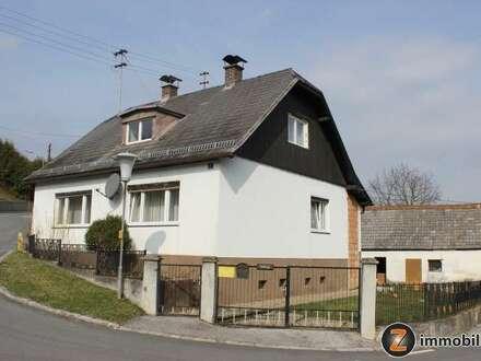 Bernsteiner Hügelland: Einfamilienhaus in ruhiger Aussichtslage