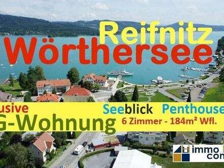 Reifnitz/Wörthersee: Exklusive DG-Wohnung mit Seeblick und 1 Kfz-AP - NEW PRICE