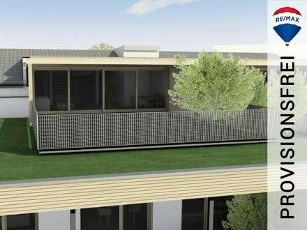 Neubau | 3 Zimmer Dachgeschoss-Wohnung mit ca. 71 m² Dachterrasse - hier thronen Sie über dem Walgau