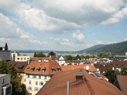 Bodenseeblick zur Miete - Penthouse in Bregenz